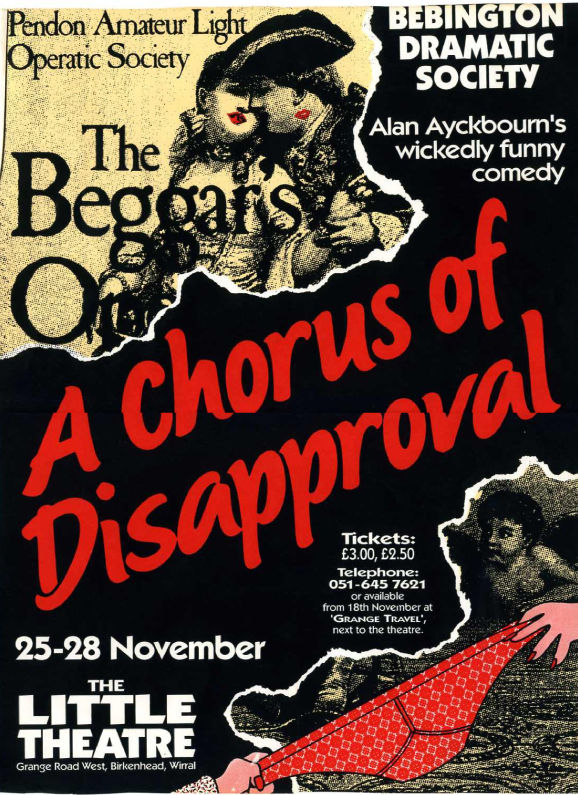a-chorus-of-disapproval-poster